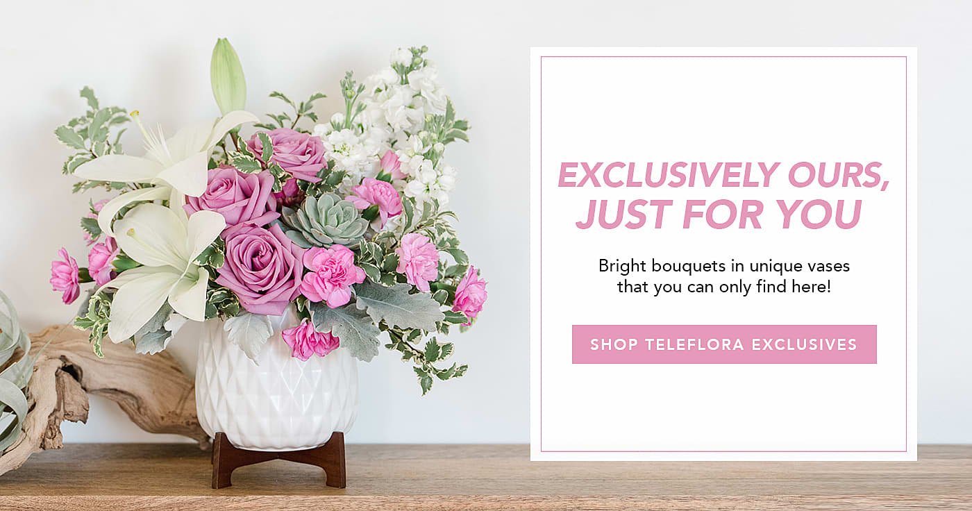 Shop Teleflora Exclusives
