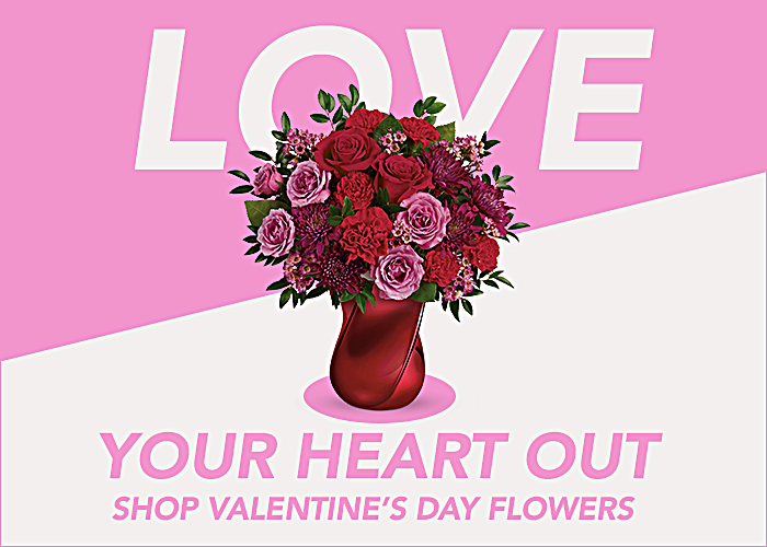 Shop Valetine's Day Flowers