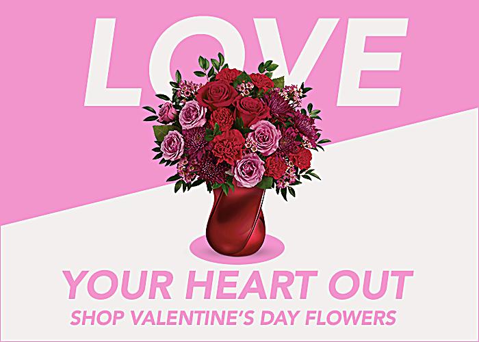 Shop Valetine's Day Flowers