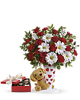 Send a Hug® I Ruff You Gift Set Bouquet