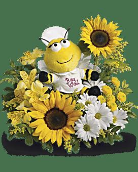 Arrangement floral Bouquet Rayon de miel de Teleflora