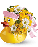 Ducky Delight baby gift