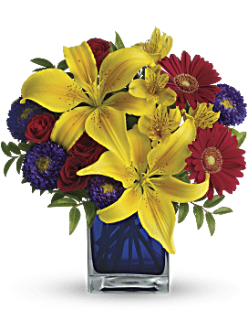 Quick view Teleflora's Blue Caribbean Bouquet