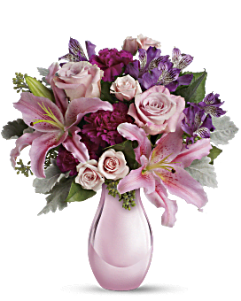 Enchanting Pinks by Teleflora Bouquet