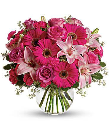 A little pink me up bouquet teleflora a little pink me up bouquet mightylinksfo