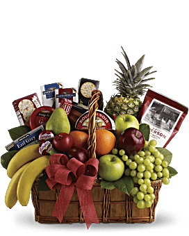 Gift Baskets | Gourmet Food and Flower Baskets | Teleflora