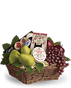 Delicious Delights Basket Gift Basket