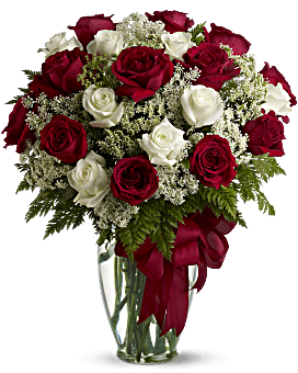 Love's Divine Bouquet - Long Stemmed Roses Bouquet