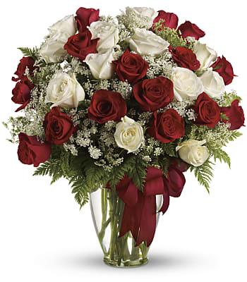 Love's Divine Bouquet - Long Stemmed Roses Flowers