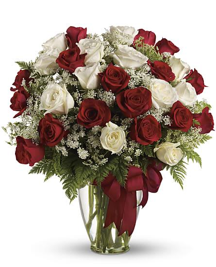 Love S Divine Bouquet Long Stemmed Roses