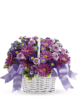 Daisy Daydreams floral basket