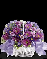Daisy Daydreams floral basket