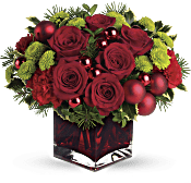 Teleflora's Merry & Bright Flowers