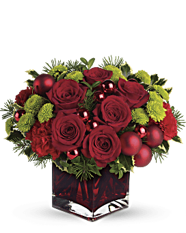 Teleflora's Merry & Bright Bouquet