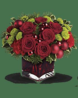 Teleflora's Merry & Bright Bouquet