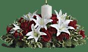 Luminous Lilies Centrepiece Flowers