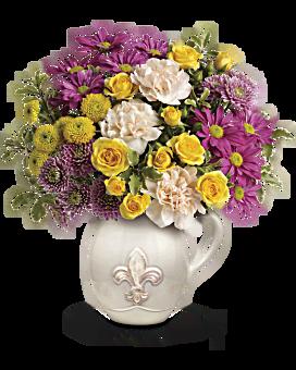 Teleflora's French Fancy Bouquet Flower Arrangement
