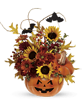 Trick or Treat Halloween Bouquet