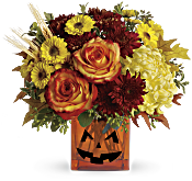 Teleflora's Halloween Glow Flowers