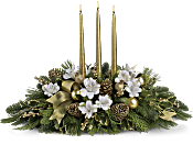 Royal Christmas Centrepiece Flowers