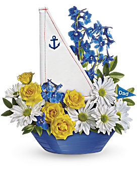 Teleflora's Captain Carefree Bouquet Flower Arrangement