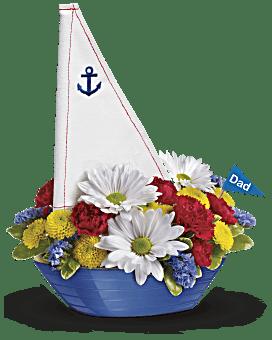 Bouquet Levez l'ancre de Teleflora