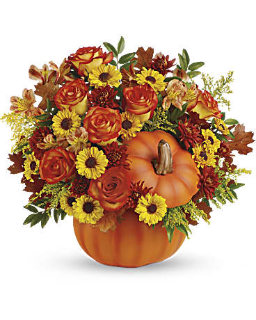 Telefloras Warm Fall Wishes Bouquet