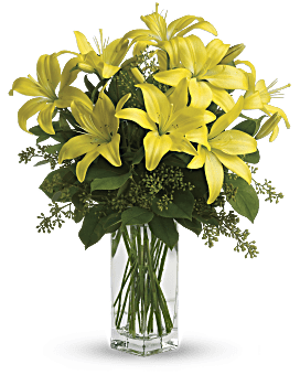 Teleflora's Lily Sunshine Bouquet