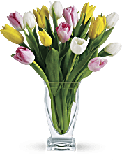 Teleflora's Tulip Treasure Flowers
