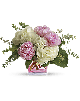Teleflora's Pretty in Peony Flower Arrangement