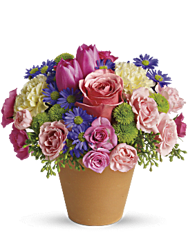Arrangement floral Sonate de Printemps