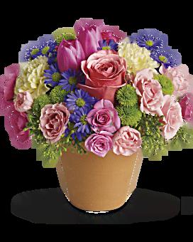 Spring Sonata Flower Arrangement