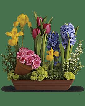 Arrangement floral Préférés du printemps