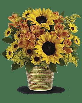 Bouquet Sourire éclatant de Teleflora