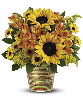 teleflora 39 s grand sunshine bouquet teleflora. Black Bedroom Furniture Sets. Home Design Ideas