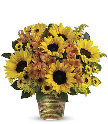 Teleflora's Grand Sunshine Bouquet Flowers