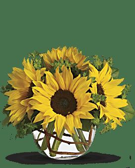 Bouquet de tournesols ensoleillés