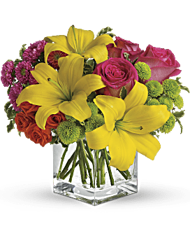Bouquet Bain de soleil de Teleflora