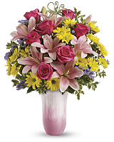 Teleflora's Singing of Spring tulip bouquet