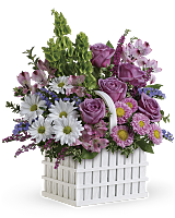 White Picket Easter Bouquet