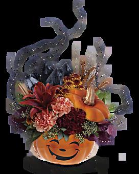 Magie bouquet fleur arrangement floral de de Teleflora Halloween