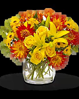 Bouquet Samba d'été