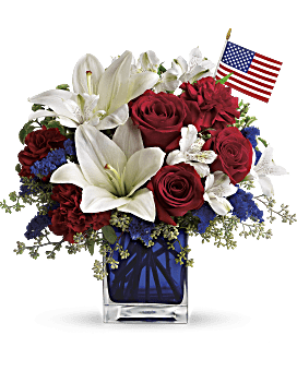 America The Beautiful by Teleflora Bouquet