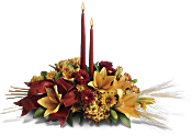 Graceful Glow Centrepiece Flowers