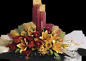 Graceful Glow Centrepiece Flowers