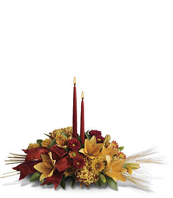 Graceful Glow Centerpiece Flowers