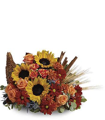 Classic Cornucopia Flowers