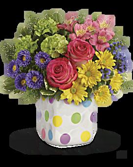 Bouquet Farandole de pois de Teleflora