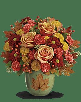 Teleflora's Heart Of Fall Bouquet Bouquet