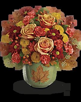 Bouquet Au cœur de l'automne de Teleflora